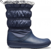Crocs™ Women's Crocband Winter Boot Navy