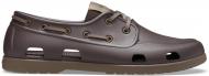 Crocs™ Classic Boat Shoe Mens Espresso/Walnut