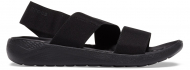 Crocs™ Literide Stretch Sandal Womens Black/Black
