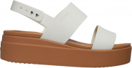 Crocs™ Brooklyn Low Wedge Womens Oyster