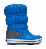 Crocs™ Crocband Winter Boot Kid's Bright Cobalt/Light Grey