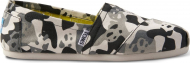 TOMS Panda Camo Men's Alpargata Black Multi