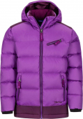 Marmot Girl's Sling Shot Jacket Bright Violet/Dark Purple