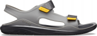 Crocs™ Swiftwater Molded Expedition Sandal Slate Grey/Black