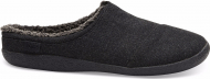 TOMS Herringbone Woolen Men'S Berkeley Slipper Black