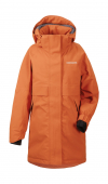 DIDRIKSONS Thea Girl's Parka Burnt Orange