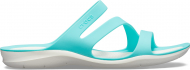 Crocs™ Women's Swiftwater Sandal Pool/White